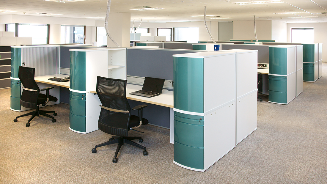 Developing office design solutions based on each customer's needs