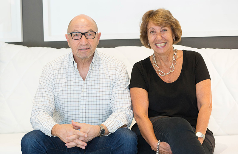 Head interiors founders are Sharon Fihrer and Michael Harrison. Video of head Interiors story.
