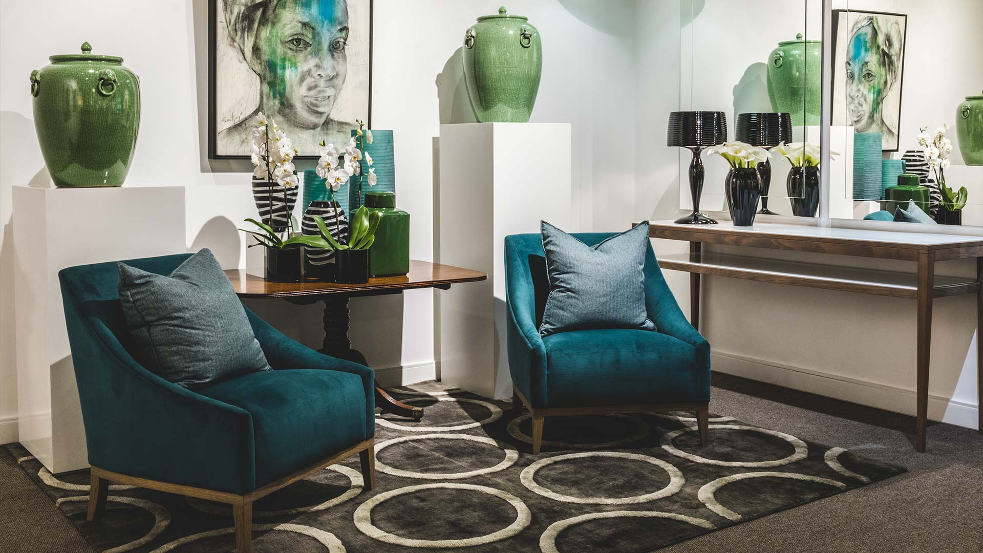 An exhibition with a difference at Head Interiors
