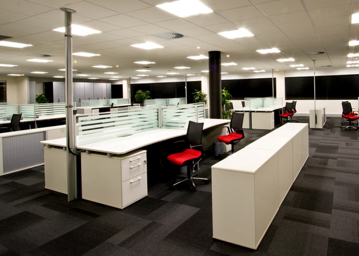 developing new ways of using office space