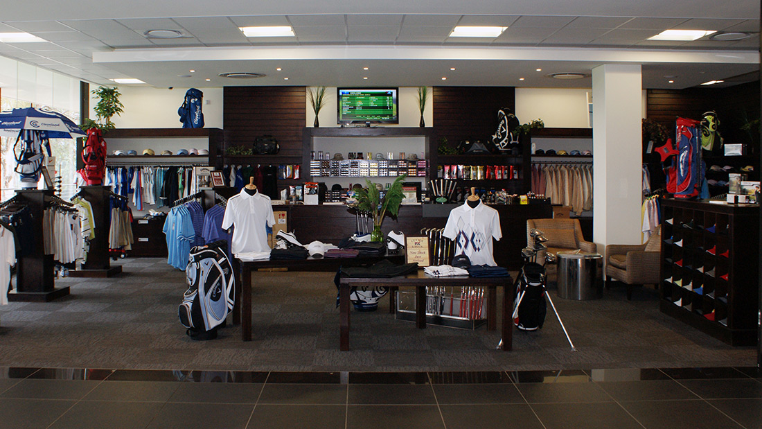 houghton golf club clubhouse - functional spaces