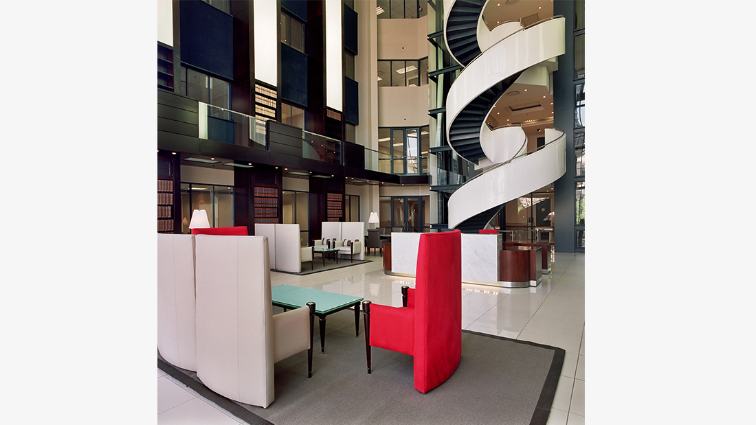 ens africa - modern look combined with traditional tribute to firm's history